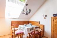 Ferienwohnung Lilli Küche Essbereich