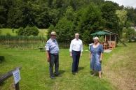 Besuch von Bürgermeister Linhart