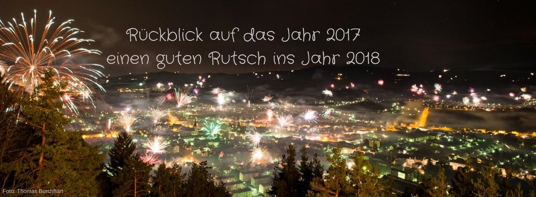 Rückblick auf das Jahr 2017