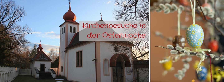Kirchenbesuche zu Ostern