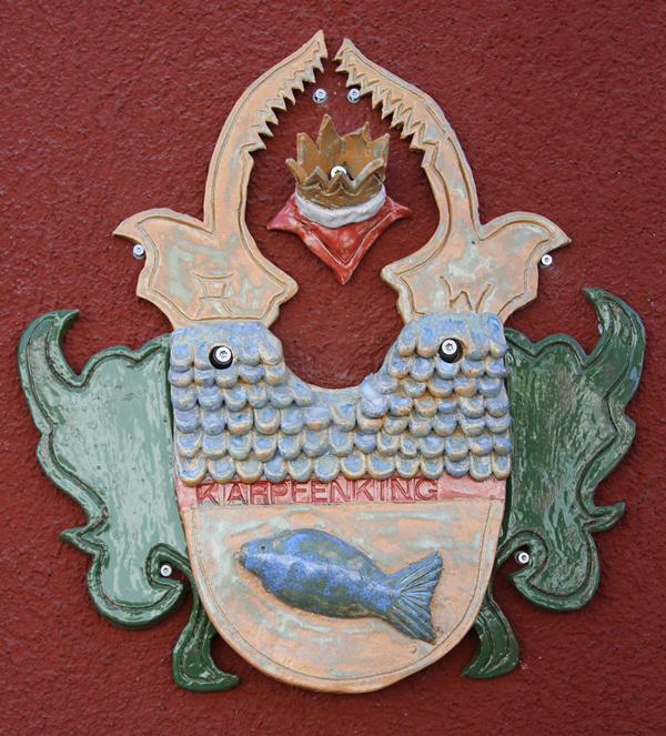 Karpfenking Wappen - von Hanna Wascher - Foto: Familie Wascher