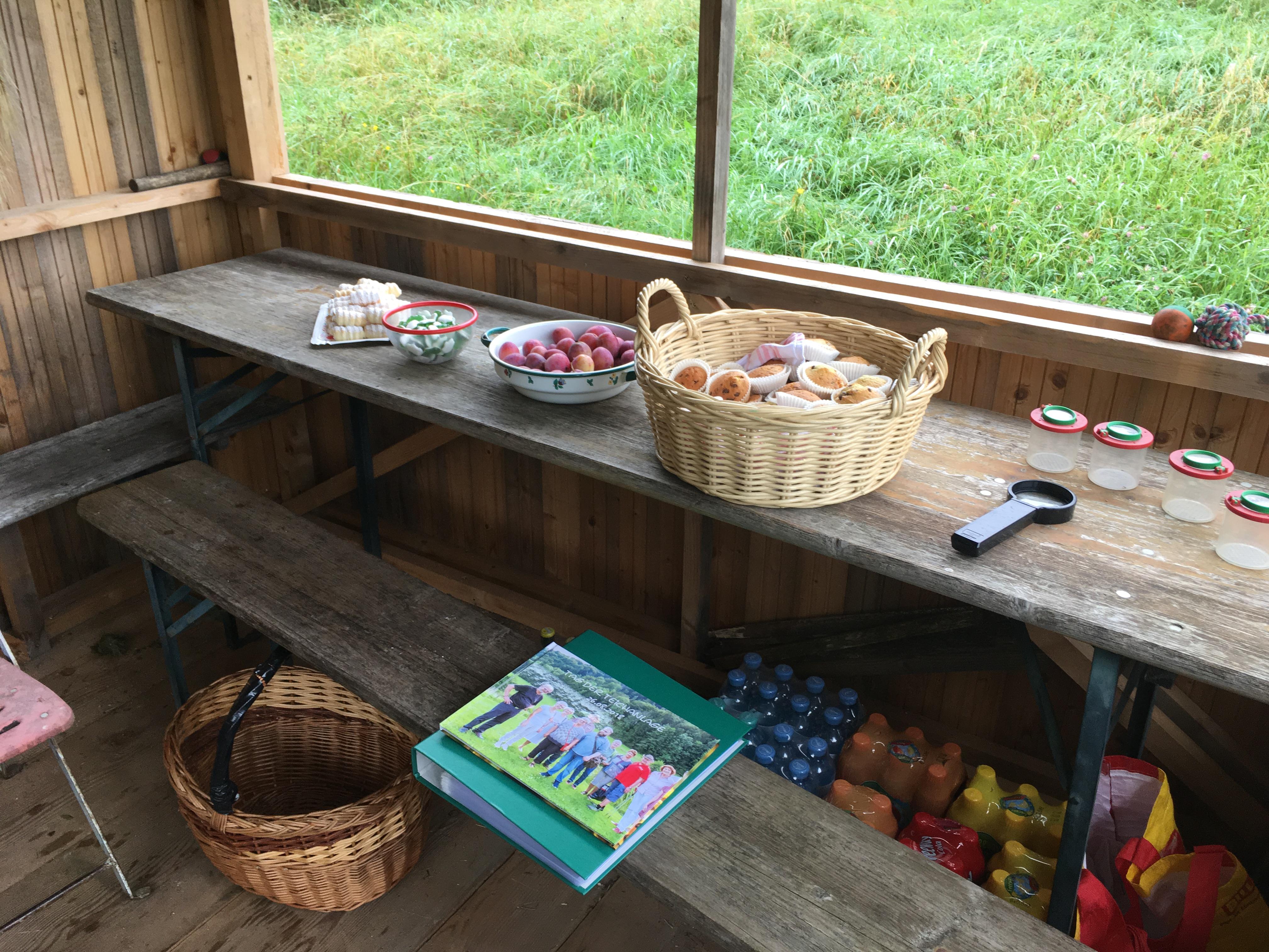 Tag der Teichanlage - Jause - Fotos & Gespräche