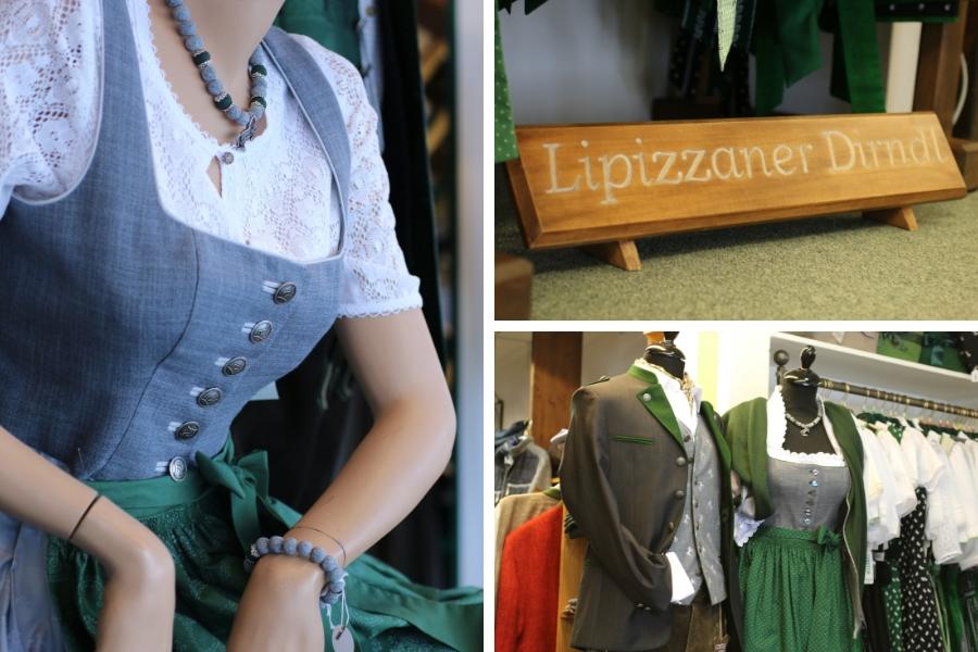 Lipizzaner Dirndl bei Trachten Pachatz in Köflach - Fotos: Annika Wascher