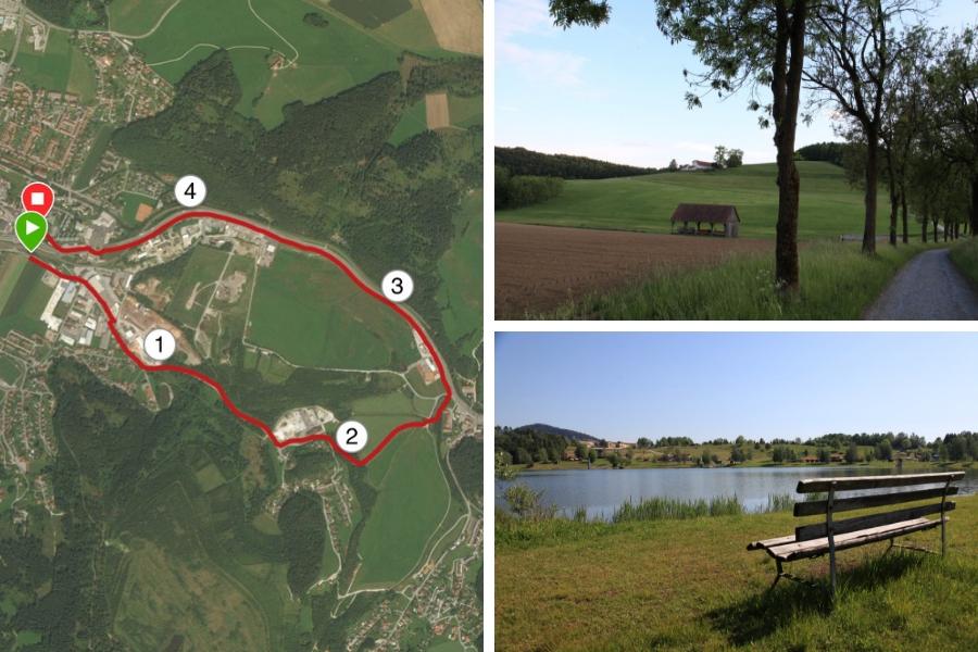 Spaziergänge, Laufstrecken in Köflach und Ausgleich zum Alltag - Fotos: Burchhart