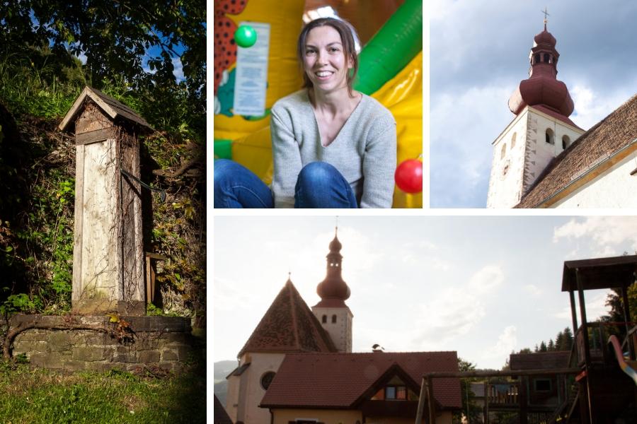 St. Johann ober Maria Lankowitz - Kirche, Wandern, Buschenschank mit Indoor und Outdoor Spielplatz - Fotos: Burchhart