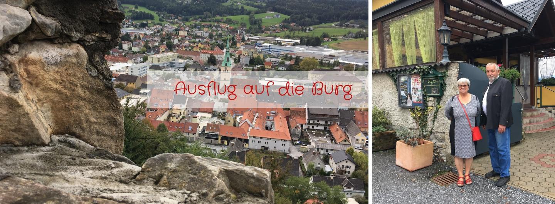 Ausflug auf die Burg nach Voitsberg - Fotos: Pia Burchhart