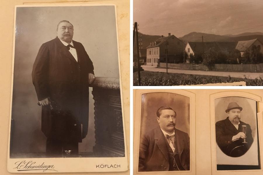 Ignaz Buchmayer - Fotos aus dem Familien-Fotoalbum