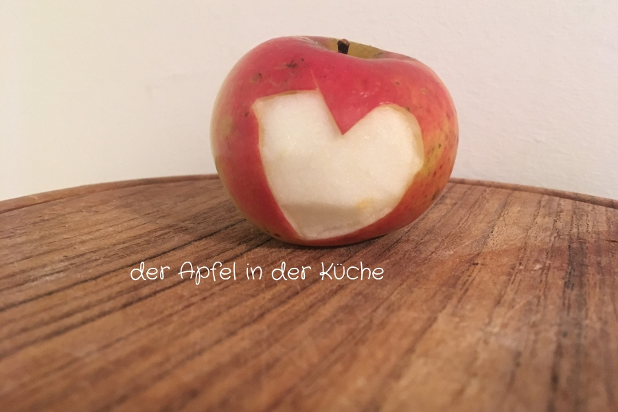 der Apfel in der Küche - Foto: Familie Wascher