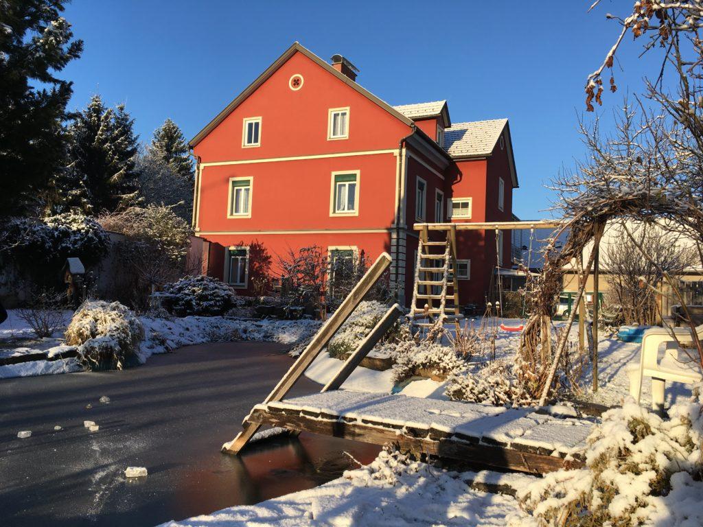 Frohe Weihnachten wünscht Familie Wascher - Karpfenking