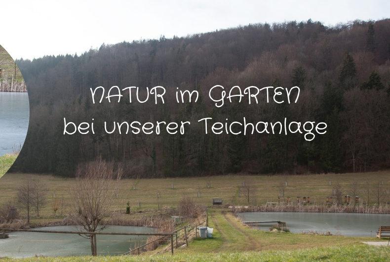 NATUR im GARTEN bei unserer Teichanlage Familie Wascher Köflach