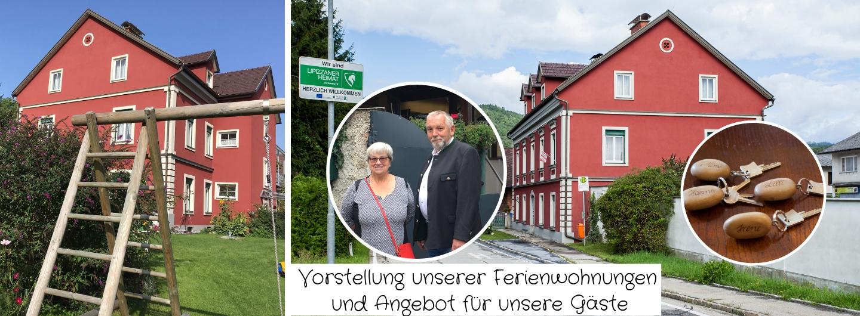Vorstellung unserer Ferienwohnungen in Köflach und Maria Lankowitz und welches Angebot bzw. Service dürfen sich unsere Gäste von Hannerl & Luis erwarten