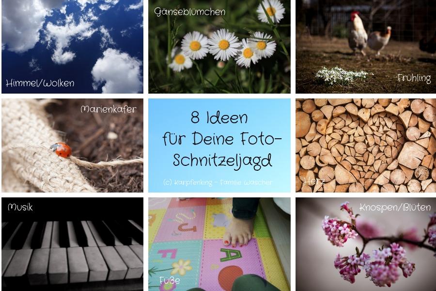 8 Ideen für Deine Foto-Schnitzeljagd oder Foto-Rally mit der ganzen Familie im Frühling - Fotos Familie Burchhart