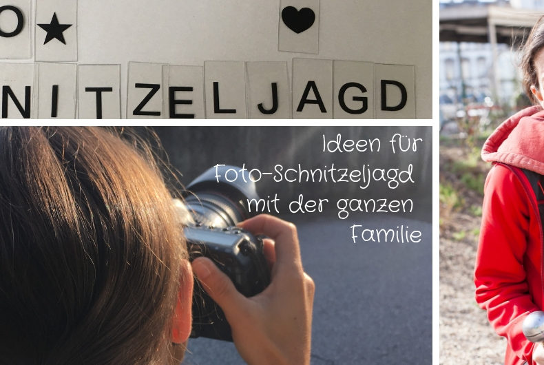 Ideen für Foto-Schnitzeljagd mit der ganzen Familie