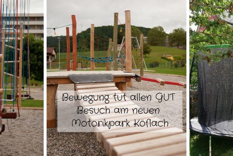 Bewegung tut allen GUT-Motorikpark Köflach