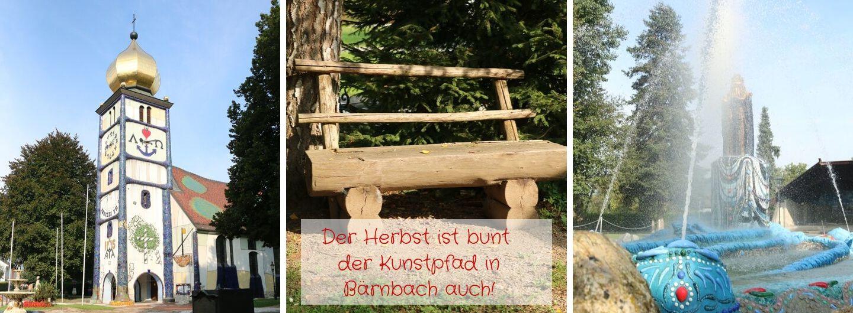 Der Herbst ist bunt der Kunstpfad in Bärnbach auch!