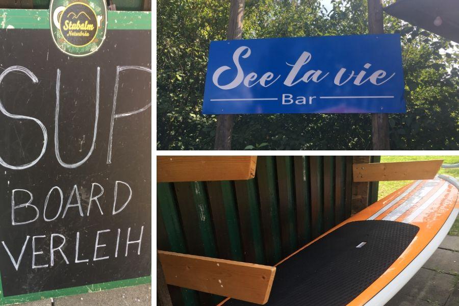SUP Board_Verleih See La vie Piberstein