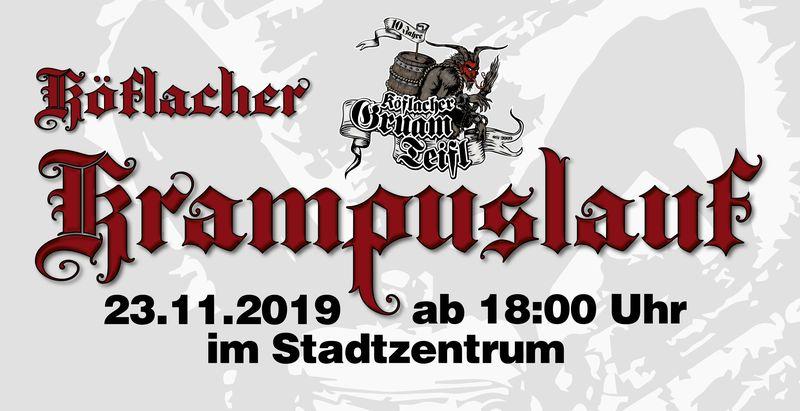 Köflacher Krampuslauf am 23.11.2019 ab 18 Uhr