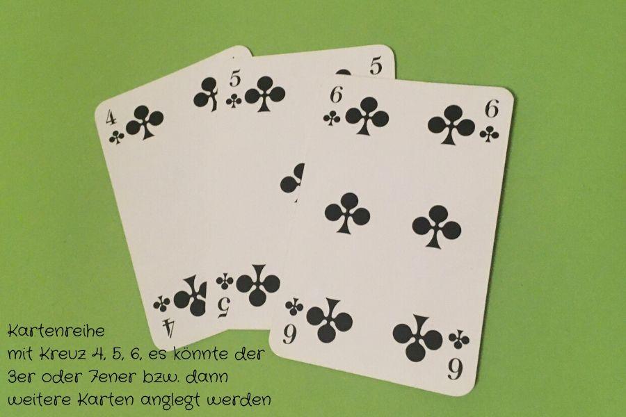Kartenreihe