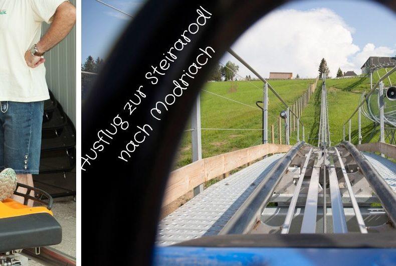 Ausflug zur Steirarodl nach Modriach - Sommerrodlbahn