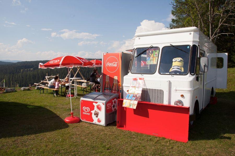 Food-Truck bei der Steirarodl