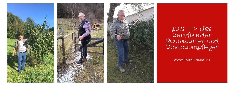 Luis Zertifizierter Baumwärter und Obstbaum-pfleger